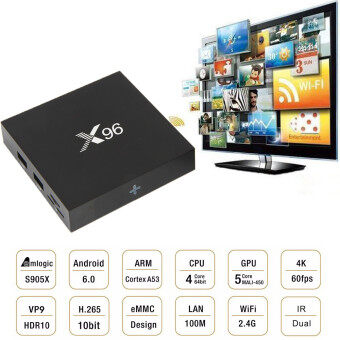 X96 OTT IPTV Android 6.0 S905X 2GB RAM /16GB ROM Quad Core Smart TV BOX