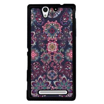 Y&M Hard Plastic Phone Case for SONY Xperia C3 (Multicolor)