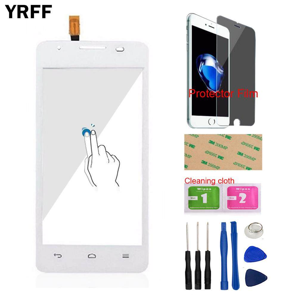 YRFF 4.5 For Huawei Ascend G510 G520 G525 U8951 T8951 Touch Screen Touch Digitizer Panel Glass Lens Sensor Flex Cable Free Tools Protector Film Adhesive - intl