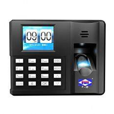 Aibao P28 Fingerprint Attendance Punch Card Machine USB Drive Download Data English Version Malaysia
