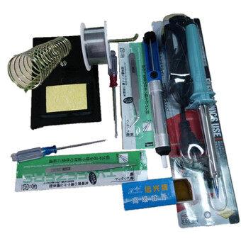 10in1 60w diy electric solder starter tool kit set with iron stand desolder pump sg149 sz. Black Bedroom Furniture Sets. Home Design Ideas