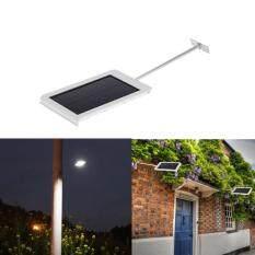 15 leds solar powered ultrathin outdoor security light wall street light garden pathway lamp