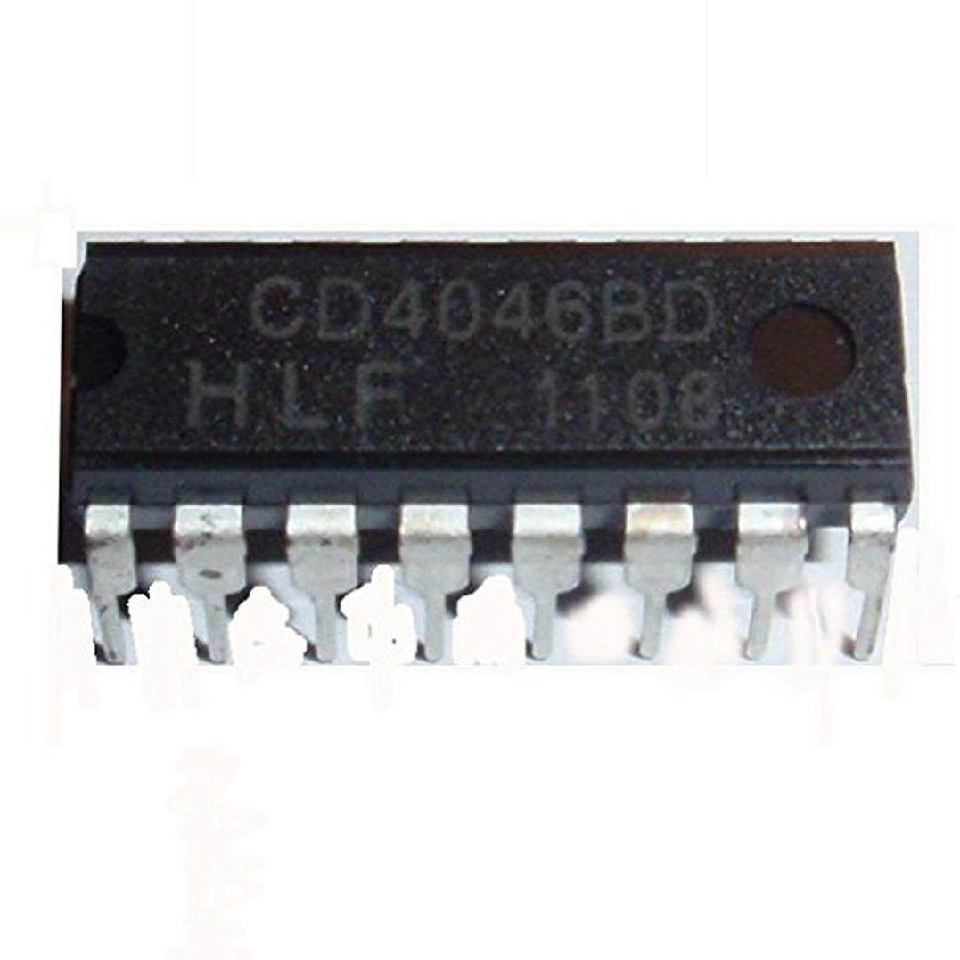 15 Pieces CD4046BE CD4046 CMOS Micropower Phase-Locked Loop 16 DIP - intl