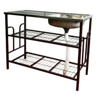 ... Heavy DutyStainless Steel Sink 304 CopperCoating Rack Made inMalaysia
