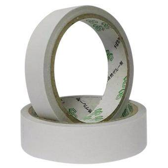 2rolls of White Double Sided Faced Strong Adhesive Tape for OfficeSupplie