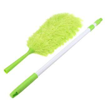 3Pcs Microfiber Duster Telescopic Handle Extendable CleaningfeatherCobweb Web Brush
