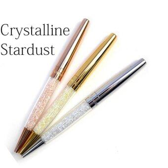 3x Crystalline Stardust Pen made with Swarvoski crystal elements-Gold,Silver,Rose Gold