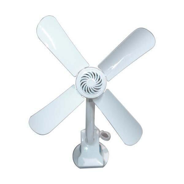 Deka Designer 3 Blade Ceiling Fan EV3 White
