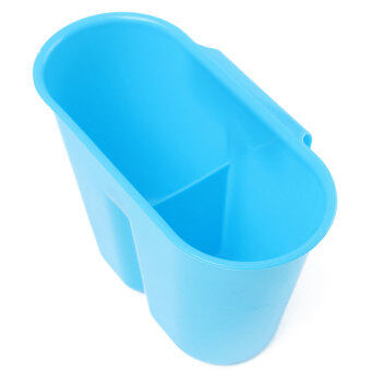 4 color kitchen dish drainer drying rack washing holder basket organizer tray blue - Color Tray