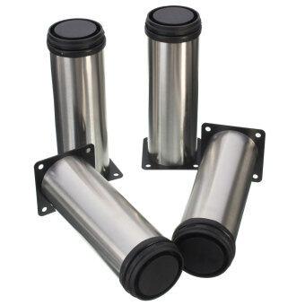 4Pcs Adjustable Cabinet Legs Stainless Steel Kitchen Feet Round ...