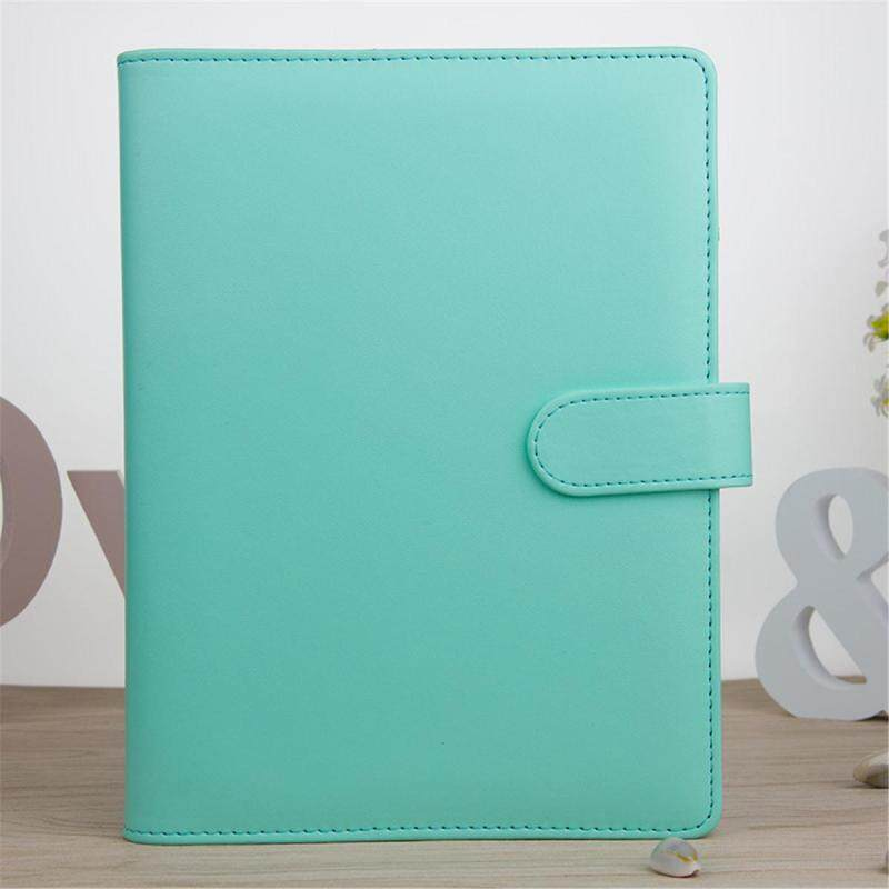 Mua A5 Classic Weekly Monthly Planner Diary Loose-Leaf-Ring-Binder Notebook Cover # Green - intl