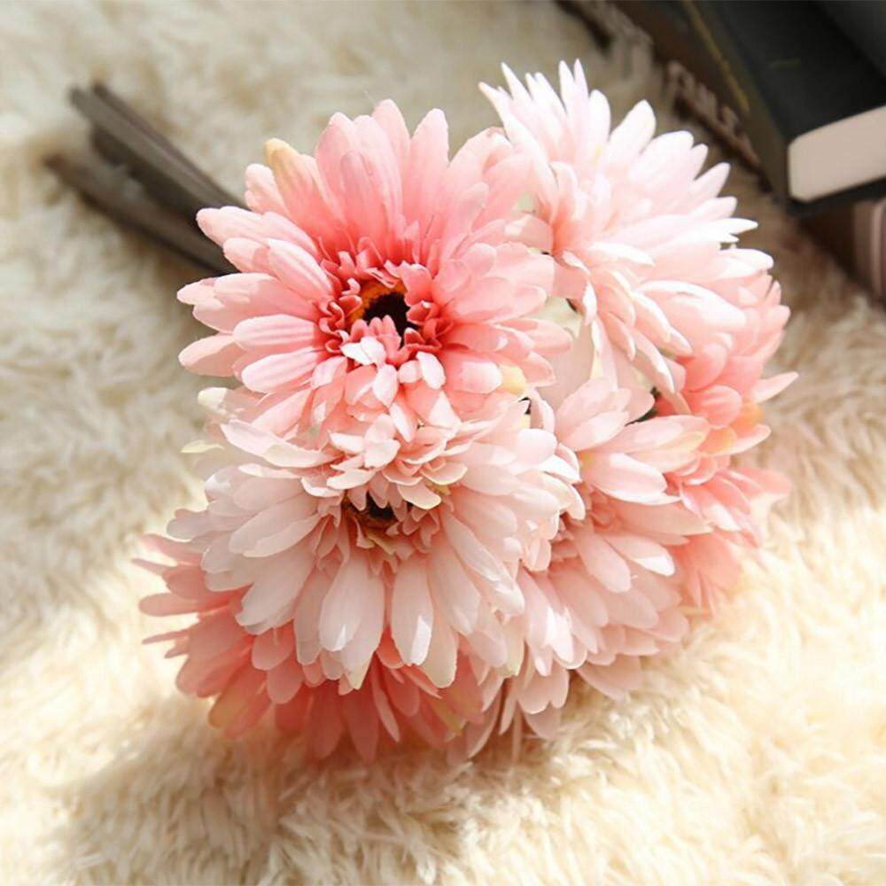 Sanwood Pretty Latex Real Touch Artificial Silk Tulip Flower Wedding Source Artificial Fake .