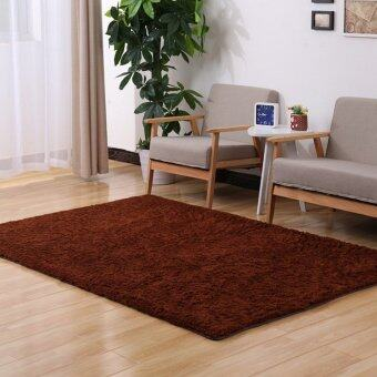 Avant Fluffy Rugs Anti-Skid Shaggy Area Rug Dining Carpet Floor MatBrown