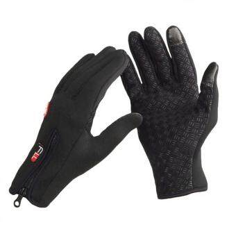 ... SmartphoneTexting Stretch Full Finger Adult Gloves Black Source BUYINCOINS Fashion Men Gloves Waterproof Touch Screen Sports