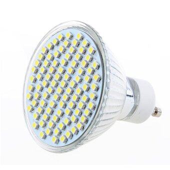 Cold White Light Bulb: Cyber GU10 93 LED 3528 SMD Cold White Light Bulb Lamp 220V 6W,Lighting