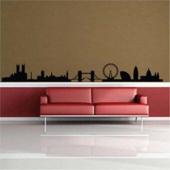 Diy London Uk Skyline Wall Sticker Home Decor Shop Store