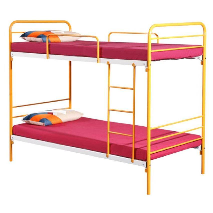 Jewel White Solid Wood Single Over Queen Bunk Bed Lazada
