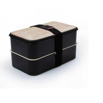 eco friendly bento lunch box with special heatproof and leakproof silicone design black. Black Bedroom Furniture Sets. Home Design Ideas