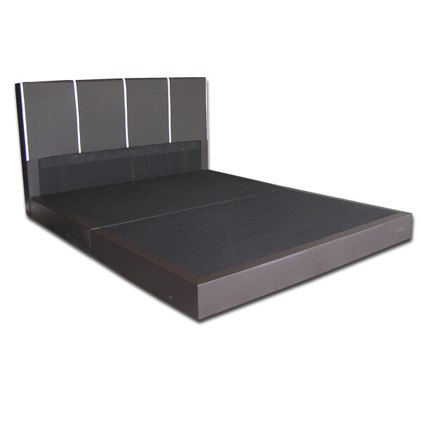 Dahlia king bedframe made in malaysia lazada malaysia for Upholstered divan bed