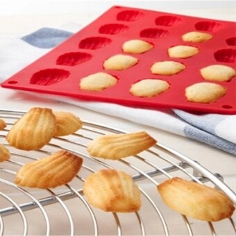 Germany madeleine shell cake pan baking mold cake mold silicone cake mold 20 even die