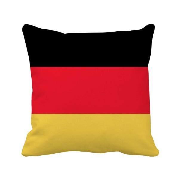 Jerman Nasional Bendera Europe Negara Bantal Bantal Sarung Bantal Sofa Rumah Dekorasi Hadiah-Internasional