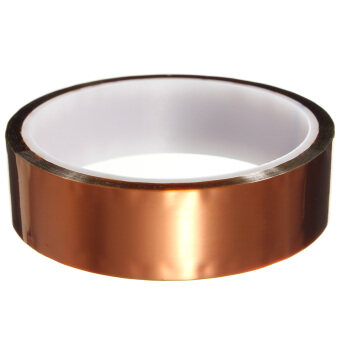 Gold Kapton Tape High Temperature Heat Resistant Polyimide 260-300?25mm x 30m