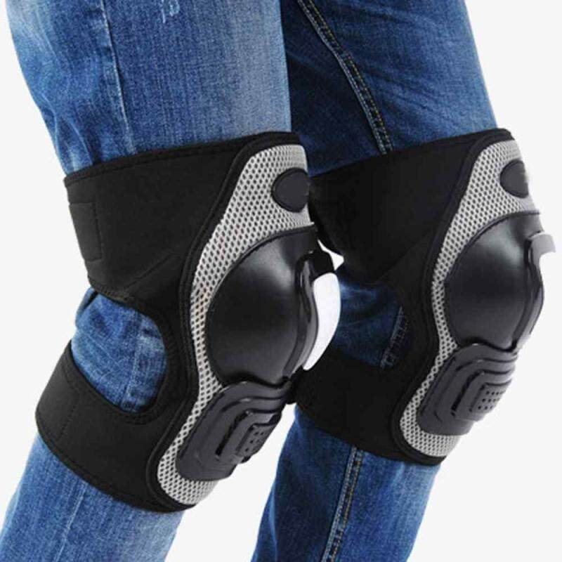 Great 1 Pair Strong Racing Moto Bicycle Bike Cycling Knee Pad Protective Gear