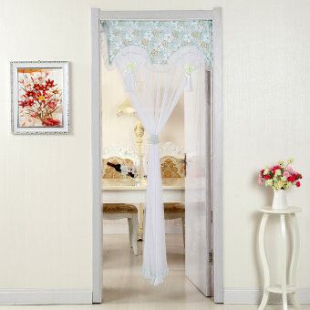 Half bedroom decorative curtain cloth partition curtain curtains