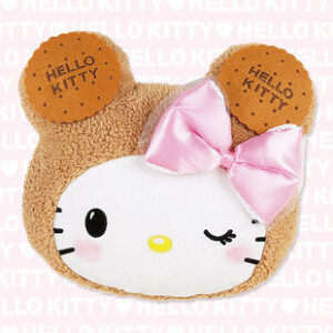 Hello Kitty biscuits purse bag/mobile phone bag/cosmetic bag/handwarmer/cushion plush toys