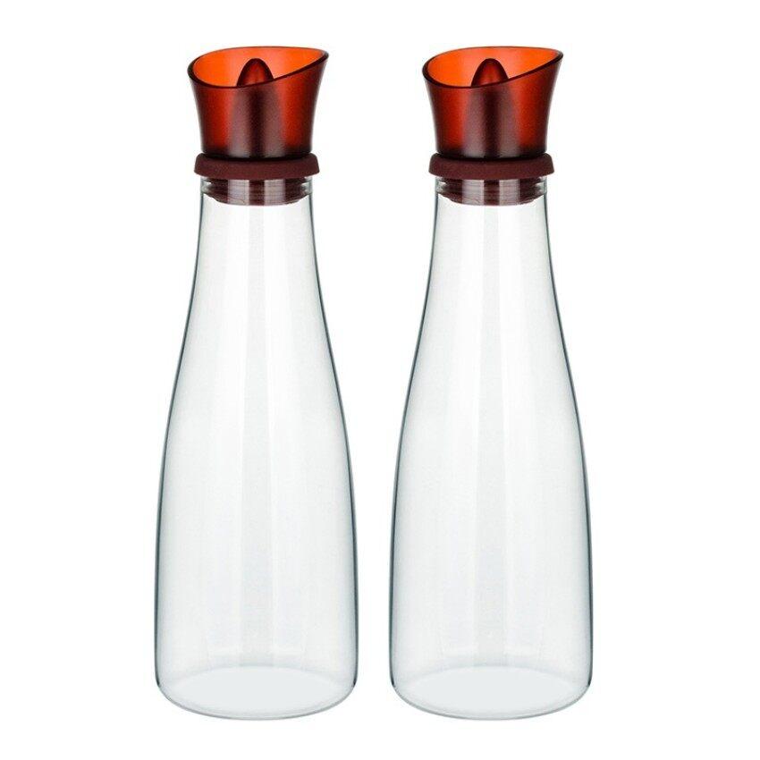 Kaca Silikon Boron Tinggi Anti Bocor Minyak Wijen Botol Madu Bottlesoy Saus Botol-Internasional