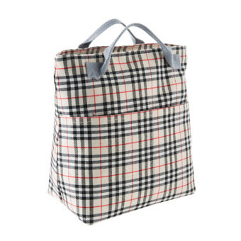 Home home Oxford Cloth striped lunch bag Portable Bag insulation bag portable aluminum foil insulation bag lunch bag