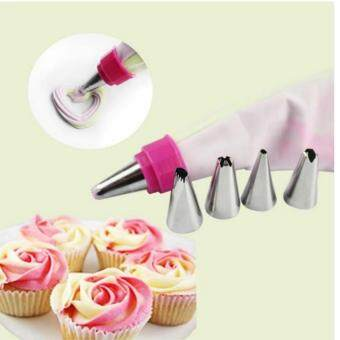 HomeGarden Icing Piping Nozzles Cake Cupcake Decor Tool Spot-billed5# 5#