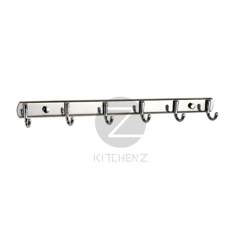 Homez Robe Hook JQS-T-6 Stainless Steel - 6 Hooks