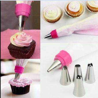 Icing Piping Nozzles Cake Cupcake Decor Tool Spot-billed 5# 5#