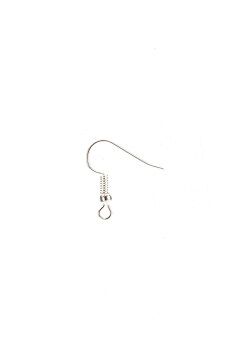 Jetting Buy Earring Hook Plated Silver 100pcs Silver