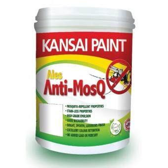 Kansai Paint Ales Anti-MosQ Mosquito Repellent Paint (White) 1L