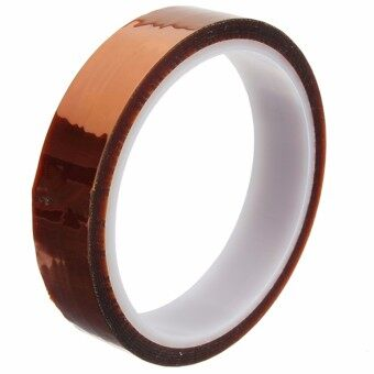 Kapton Tape BGA High Temperature Heat Resistant Polyimide Gold 20mmX 100ft