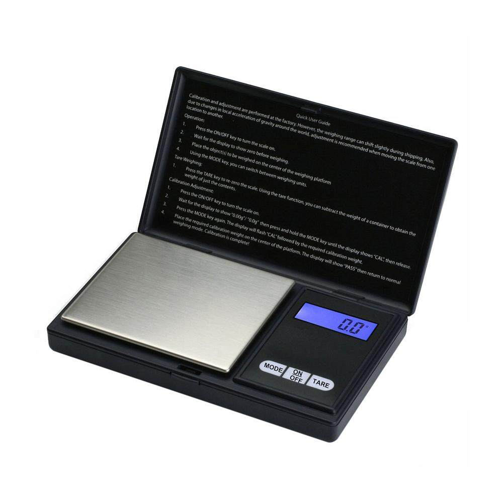 liangun Jewelry Scale Digital Pocket Scale 200 By 0.01gm For Reloading Kitchen Jewellery Gold Or Coins - Black - intl