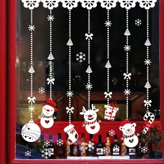 Mall shop double-sided window stickers wall adhesive paper glass adhesive paper
