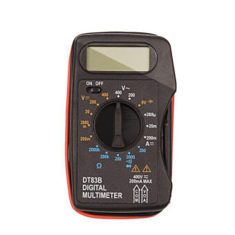 Mini Digital Multimeter Continuity Tester(Black)