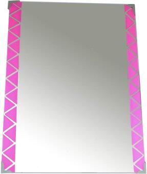 Mirror pink border 60cm x 45cm lazada malaysia for Mirror 45 x 60