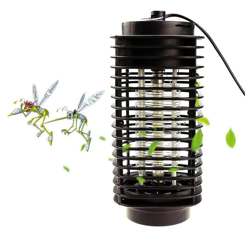 Mosquito Fly Bug Insect Trap Zapper LED Electric Killer Night Lamp EU Plug NEW - intl