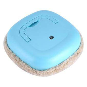 Multi-function USB Rechargeable Smart Cleaning Machine Household Floor Sweeping Mop Robot Blue (FREE 1 GIFT)