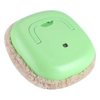 Multi-function USB Rechargeable Smart Cleaning Machine HouseholdFloor Sweeping Mop Robot Green