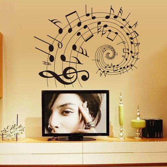 How To Decorate A Music Room Using Themed Elements 10pcs 3d Maze Mirror Acrylic Wall Sticker Removable Art Decal Home