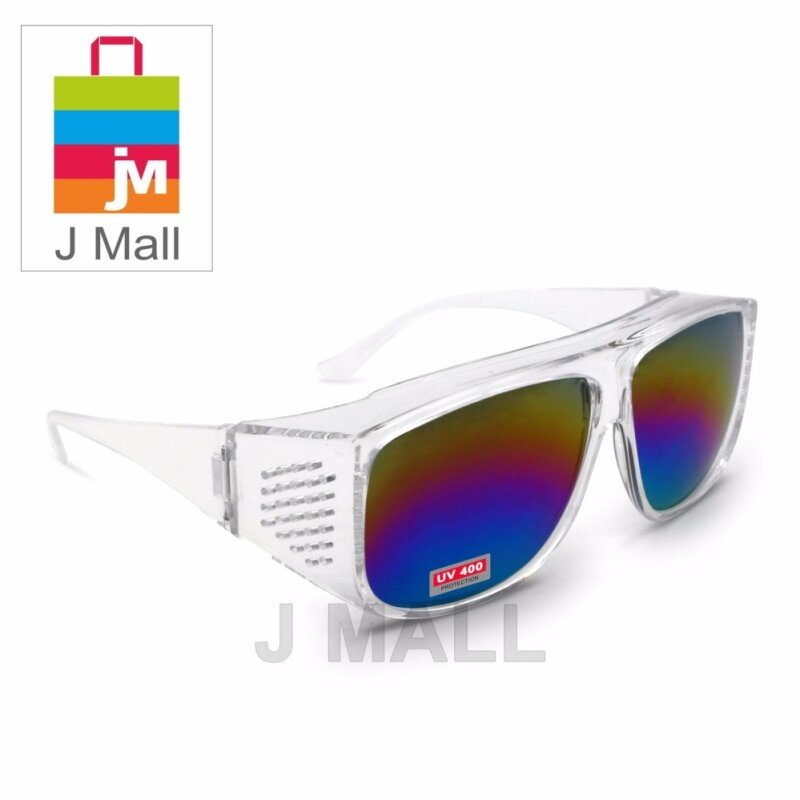 New Safety Eye Protection PPE Glasses Goggle Spec (881-4) Rainbow
