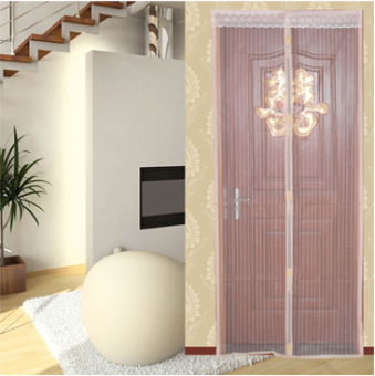 New style summer mosquito curtain high-grade striped Screen Doormagnet nets screens-free wear magnetic soft Salmonella