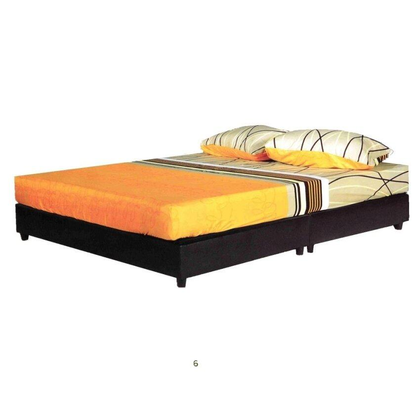 Mf Design Cinderella Single Size Divan Bed White Lazada Malaysia