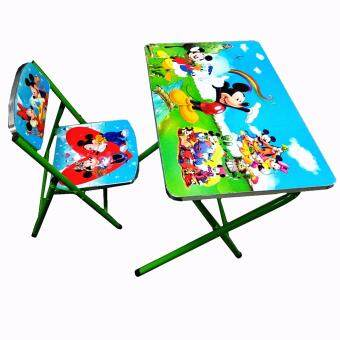 PJY SD18 Study Desk (Mickey Mouse Green)
