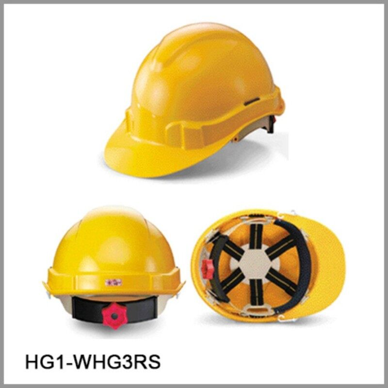 PROGUARD SAFETY HELMET HG1-WHG3RS(Stealth lock)WHITE OR YELLOW